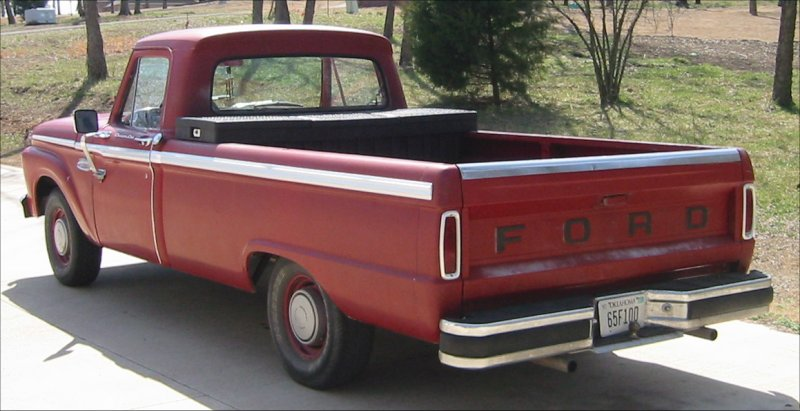 Vintage ford pick up apologise